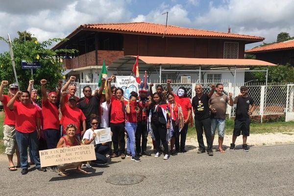 Manifestation le 28 août devant le consulat du Brésil
