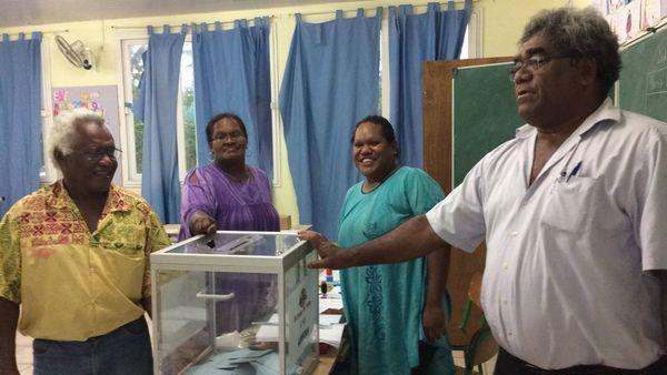 Vote deuxième second tour élections législatives Luecila Lifou (18 juin 2017)