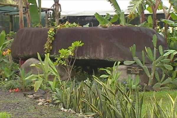 Stèle qui rend hommage au roi Opuhara