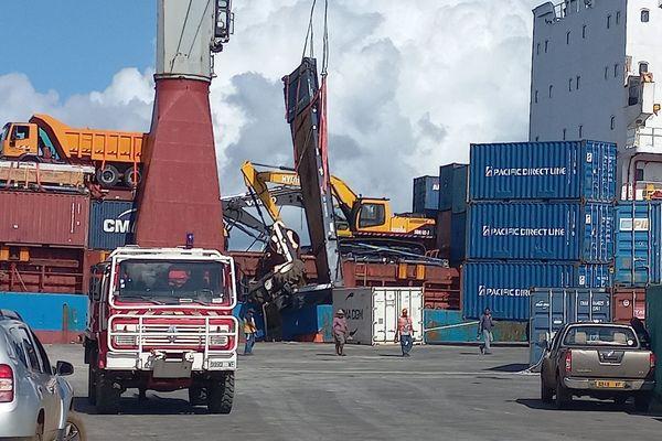 incident au quai de Mata-Utu