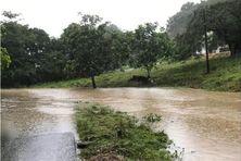 Inondations à Boisvin, aux Abymes, le 10 novembre 2020
