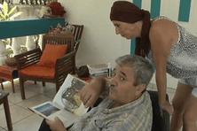 Jamil Aldubisi, syrien, il est arrivé en Guyane il y a 3 mois pour fuir la guerre.