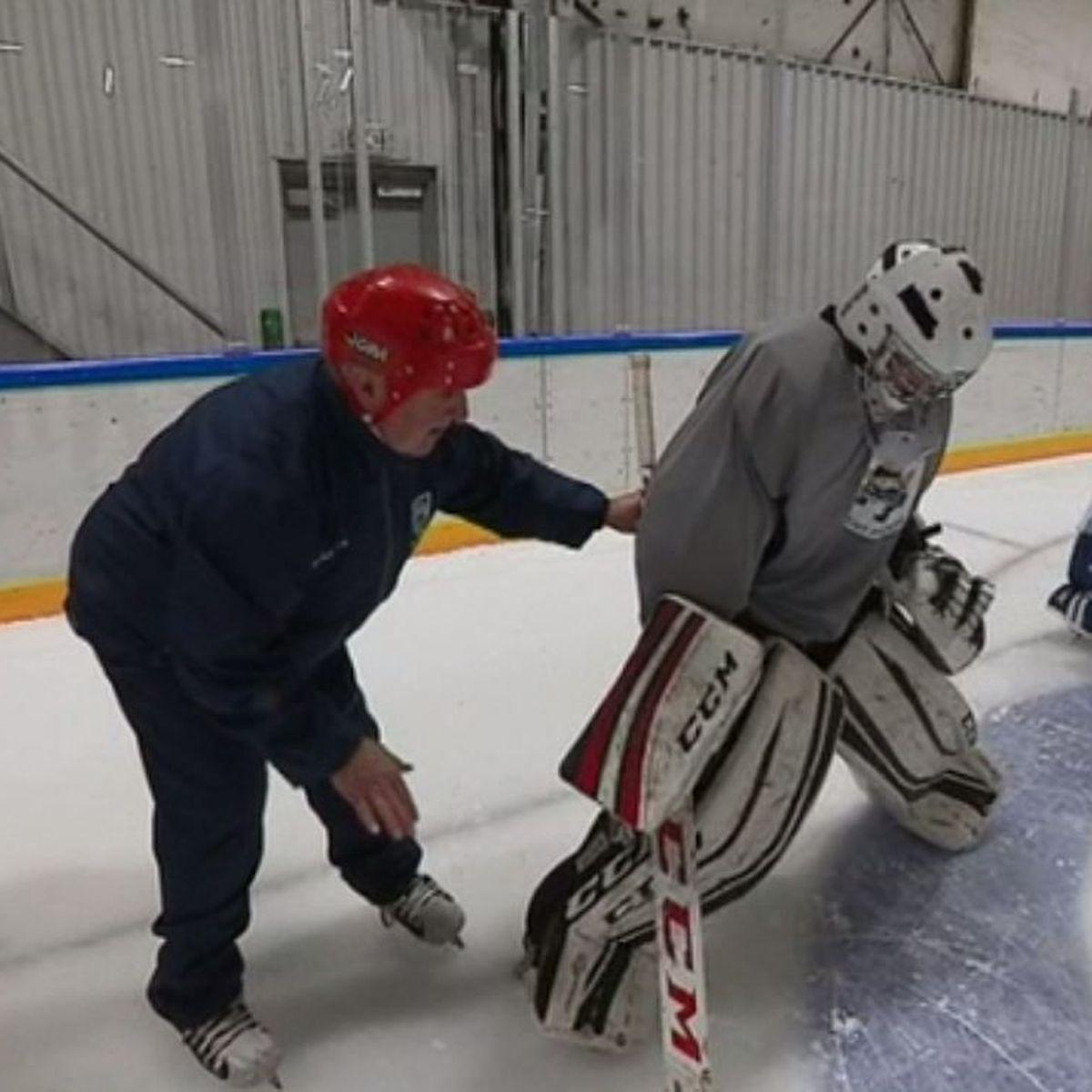 Des entraînements spécifiques pour les gardiens du hockey mineur de Saint-Pierre