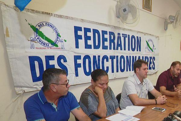 Fédération des fonctionnaires  : préavis de grève illimitée