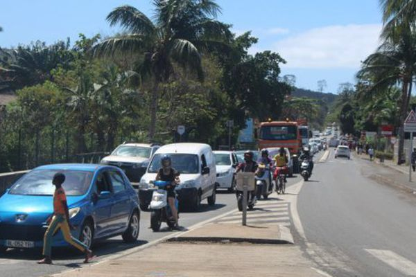 Embouteillage Mayotte