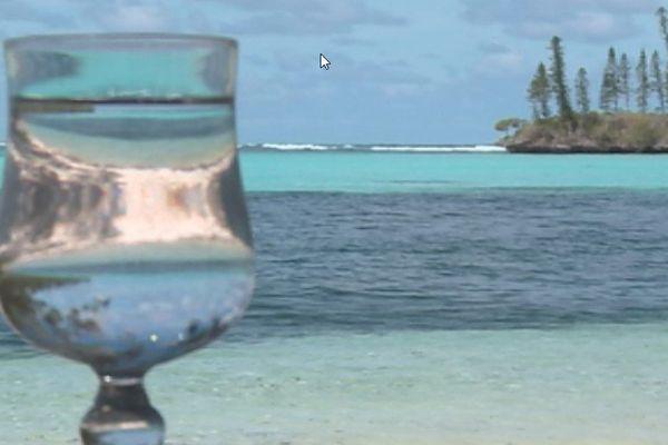 eau non potable île des pins