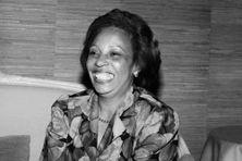 Lucette Michaux-Chevry (août 1987).