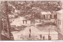 Pointe-à-Pitre après le cyclone de 1928