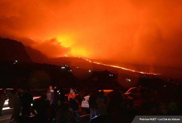Volcan Fournaise cône piton Fréri éruption 25 au 27 octobre 2019 sur les grandes pentes 221119