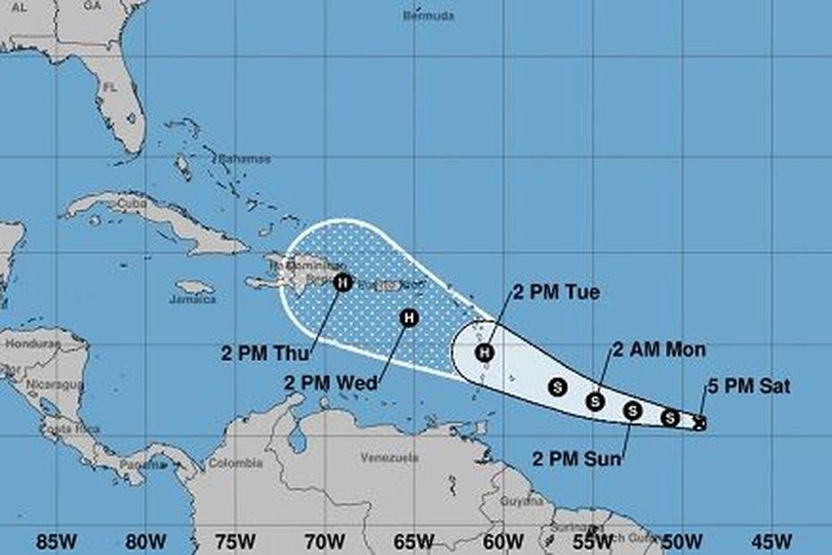 Petites Antilles : Naissance de la Tempête tropicale Dorian - Guadeloupe la 1ère