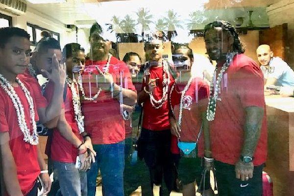 départ athlètes tahiti