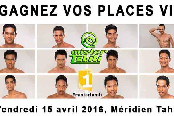 visuel jeu Mister Tahiti 2016