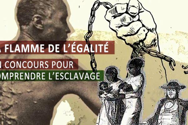 La flamme de l'égalité, un concours pour comprendre l'esclavage
