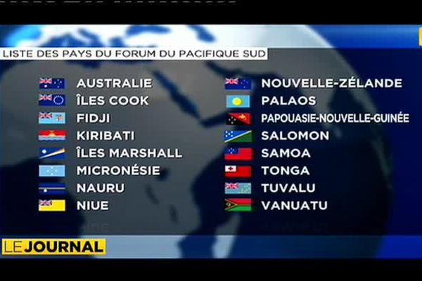 Forum des îles du Pacifique : La Polynésie française demande le statut de membre
