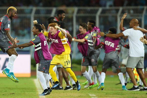 Historique, un premier nul et premier point en Coupe du Monde pour la Calédonie.
