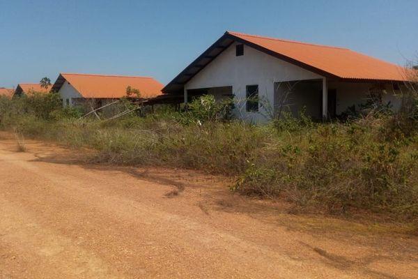 Maisons du lotissement Maillard à Macouria