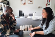 Kevin Beltou et Lloyd Ligueri-Richard, étudiants guadeloupéens