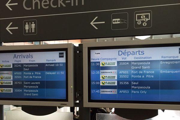 Reprise des vols à Air Guyane