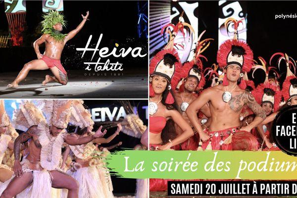 Heiva : la 2e soirée des podiums en Facebook Live
