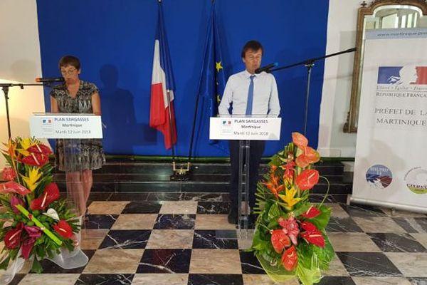 Rencontre internationale sur les sargasses début octobre en Martinique (Hulot)
