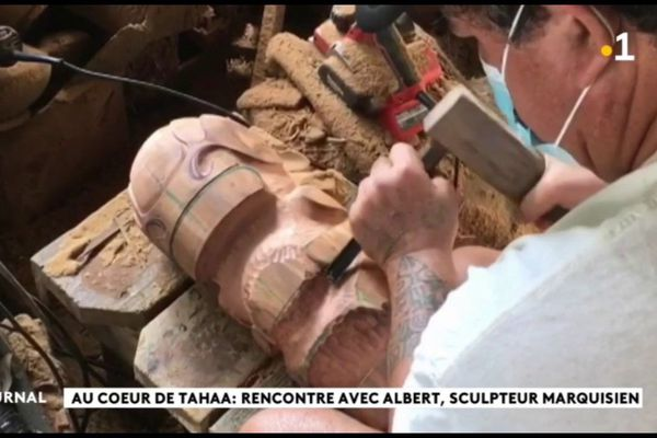 Rencontre avec Albert Ohotua, sculpteur