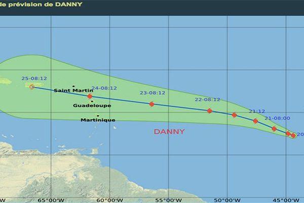 Ouragan Danny (jeudi 20 août)