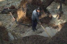 Un garimpeiro au coeur de l'Amazonie
