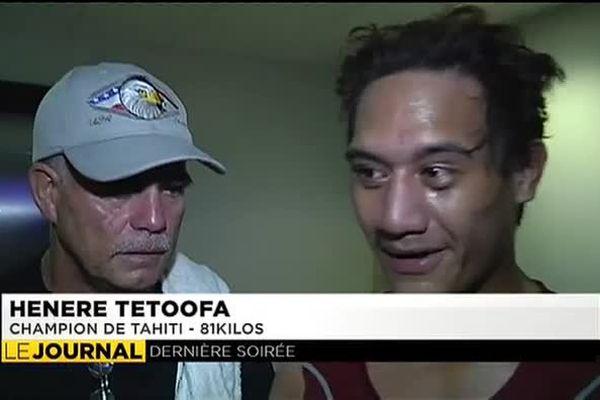 Fin en apothéose pour les boxeurs tahitiens