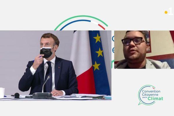 Emmanuel Macron et Guillaume Robert