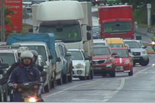 Les calédoniens bloqués dans la circulation