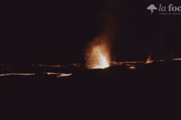 Eruption spectaculaire !