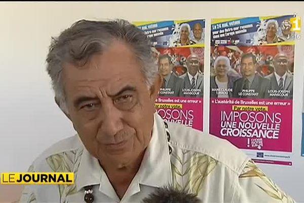 Européennes : Oscar Temaru satisfait des résultats