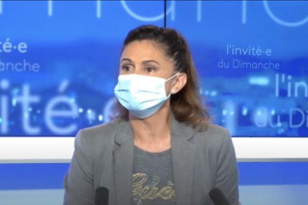 Nina Julié invitée du JT