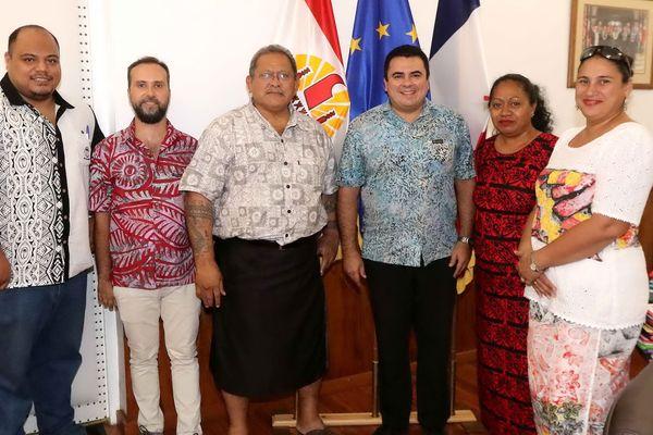 Renforcement de la convention de partenariat entre Wallis et Futuna et la Polynésie Française