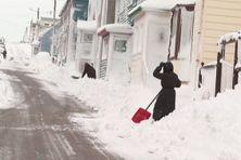 La neige a fait son grand retour dans les rues de Saint-Pierre et Miquelon
