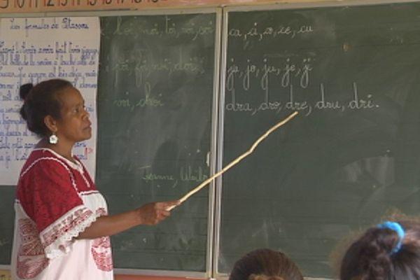 Capture enseignant institutrice premier degré école tableau (juin 2017)