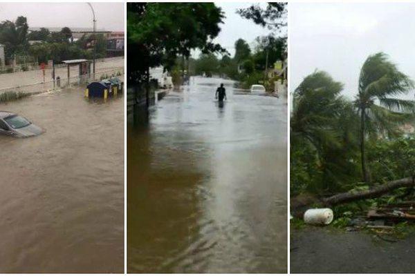 L'ouragan Maria a frappé la Guadeloupe dans la nuit de lundi à mardi.