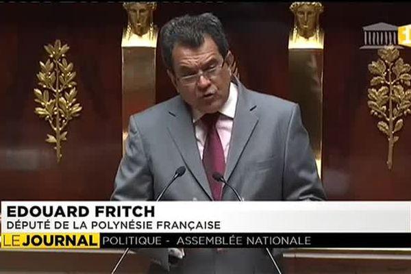 Edouard Fritch défend le foncier à L'Assemblée nationale