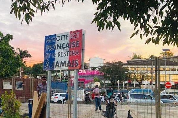 panneau Mayotte est Française