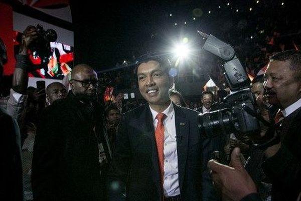 Andry Rajoelina, candidat à la présidentielle à Madagascar