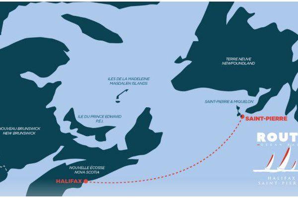 Route Halifax/Saint-Pierre