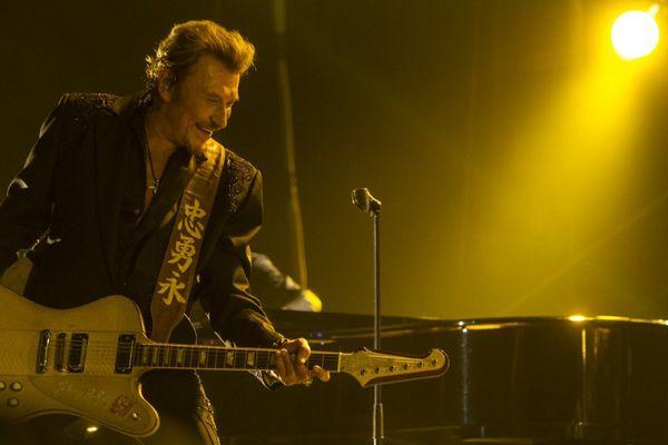 Johnny Hallyday en concert à Tahiti ! 4