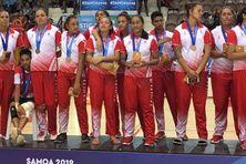 Les Tahitiennes décrochent l'argent en volley-ball.