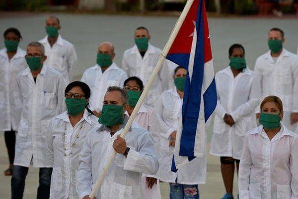 Les médecins cubains