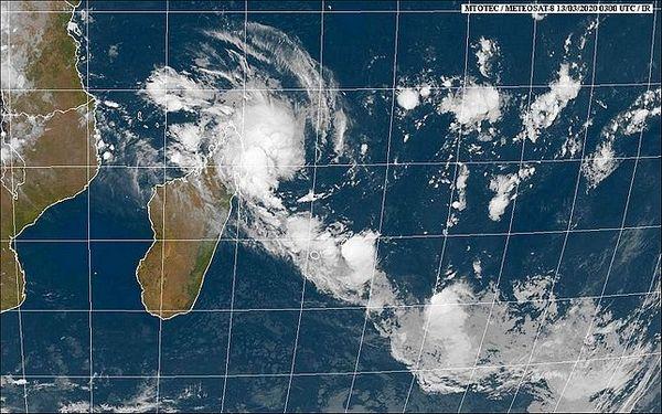 image satellite 13 mars 2020