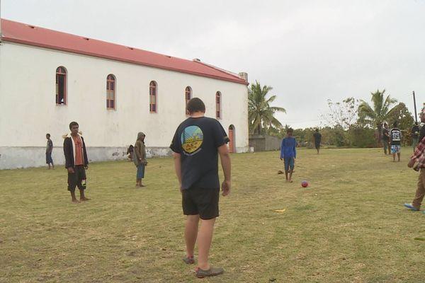 Ouvéa : jeunes footballeurs du challenge Michelet