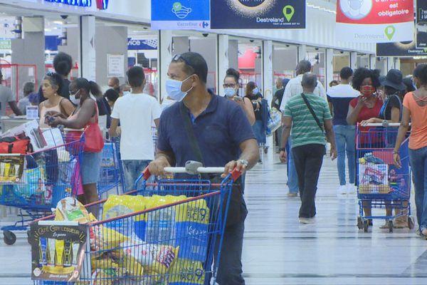 centre commercial sous jauge