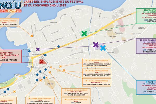 Plan animations Festival Ono'u