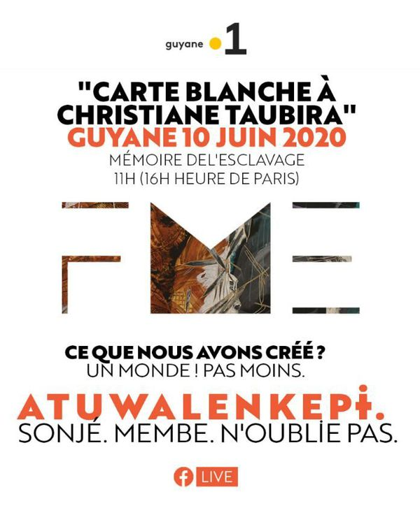 Carte Blanche à Christiane Taubira