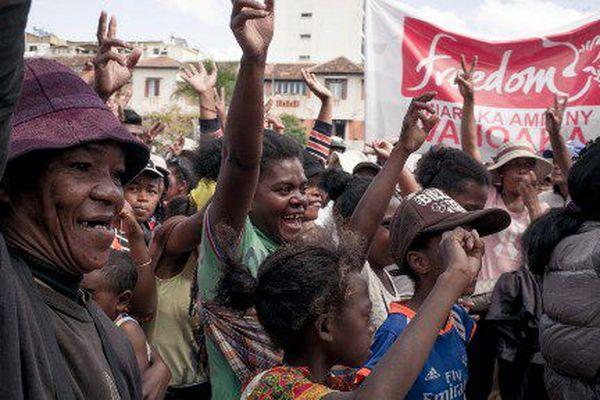 Manifestation à Antananarivo le 28 mai 2018